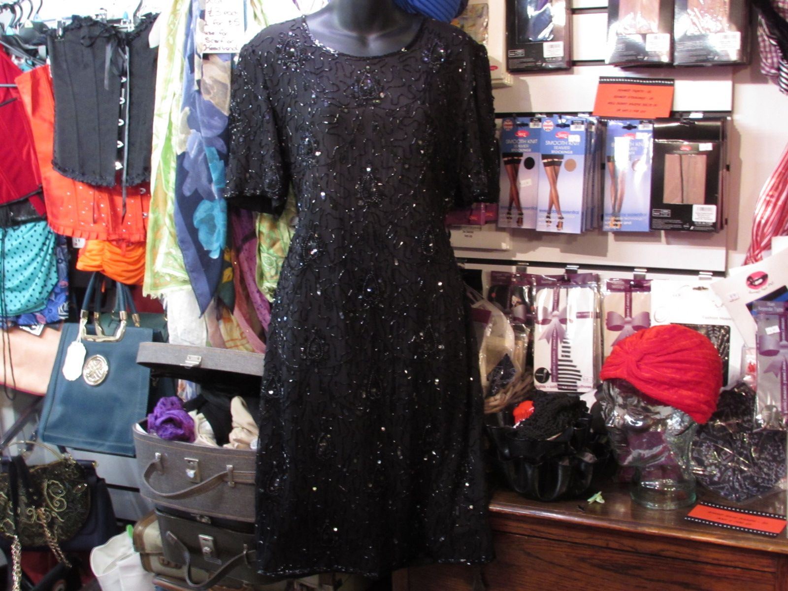 S styling short evening dress but made in the s with