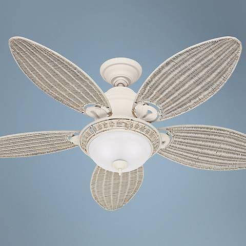 Caribbean Breeze 199 White Ceiling Fan