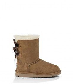 84c6e3b706d UGG Kids Bailey Bow Boots Chestnut 3280Y Shop | Women UGG Boots ...