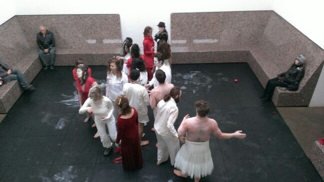 Butoh Ritual...the Japanese aesthetic is too stylized for my taste.