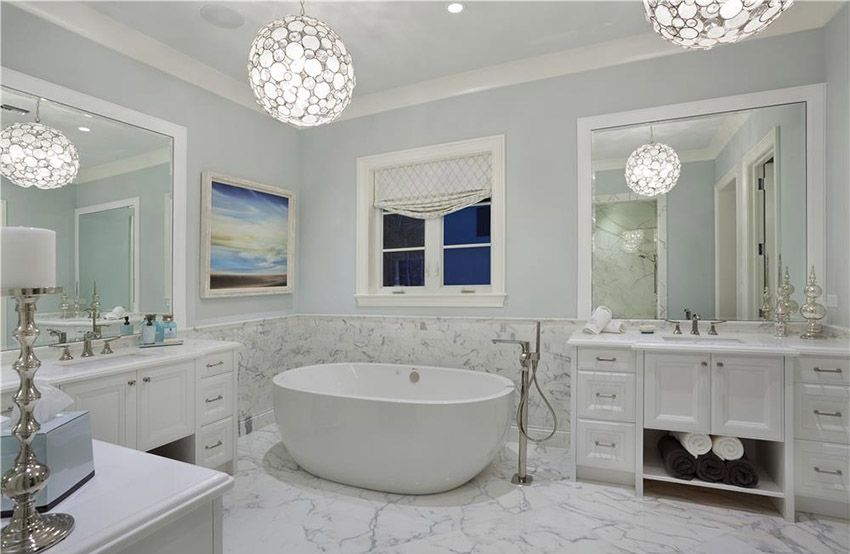 Bathroom Design Ideas Part 3 Contemporary Modern Traditional White Master Bathroom Bathroom Design Luxury White Marble Bathrooms