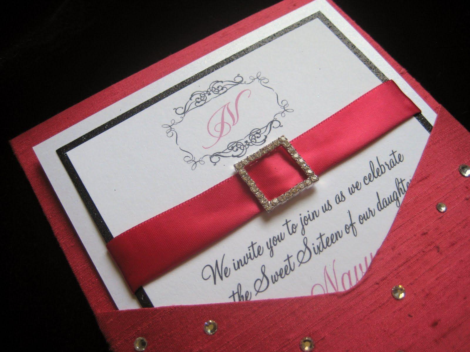 diy hollywood wedding invitations | ... | Maria\'s Sweet 16 ...