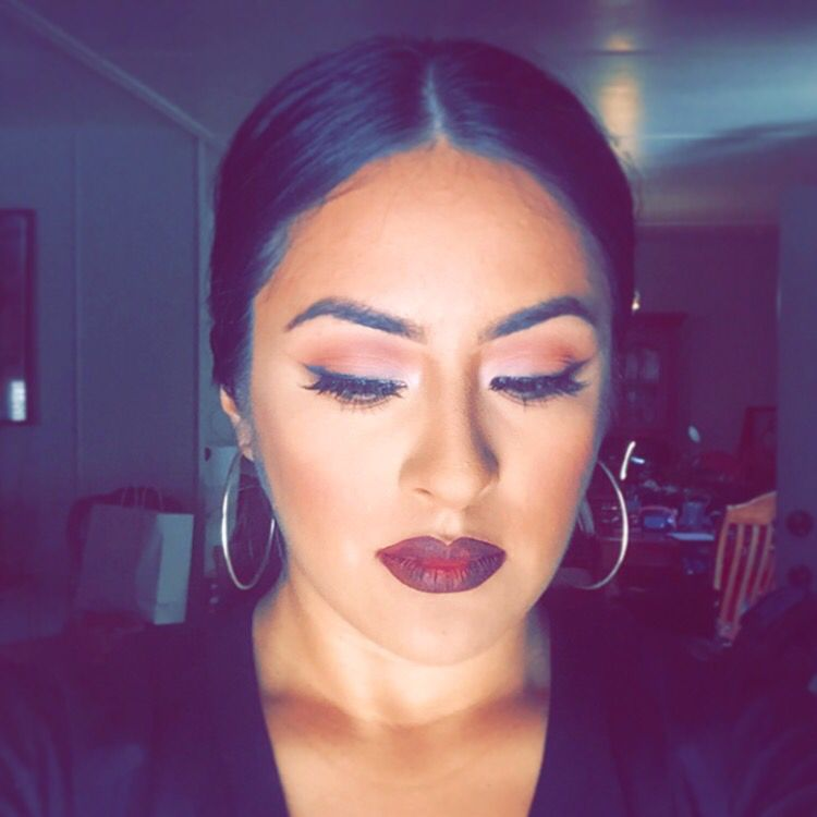 Obsessed with this look. #vampylips #sephoralashes # ...