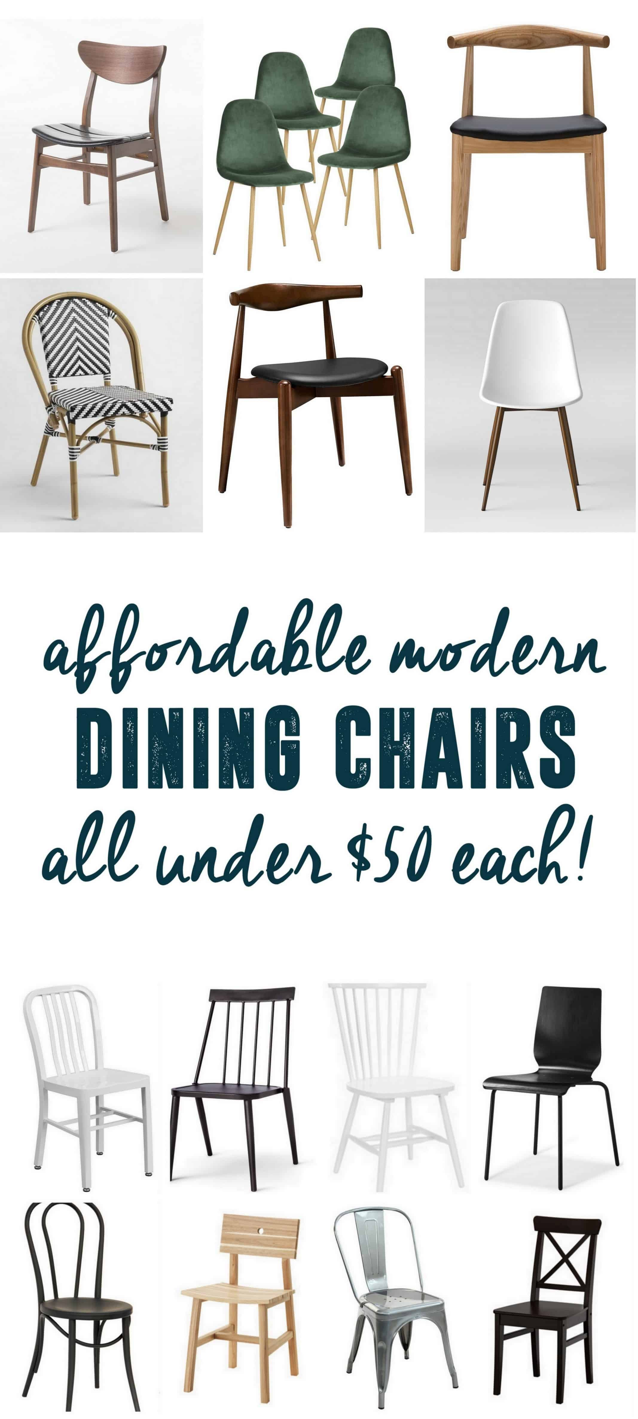 Affordable Modern Dining Chairs Decorating Pinterest Dining
