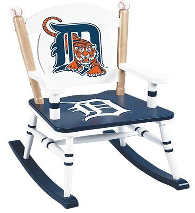 A Baseball Themed Rocking Chair! Design A Syracuse Chiefs Themed On With  Scooch On It