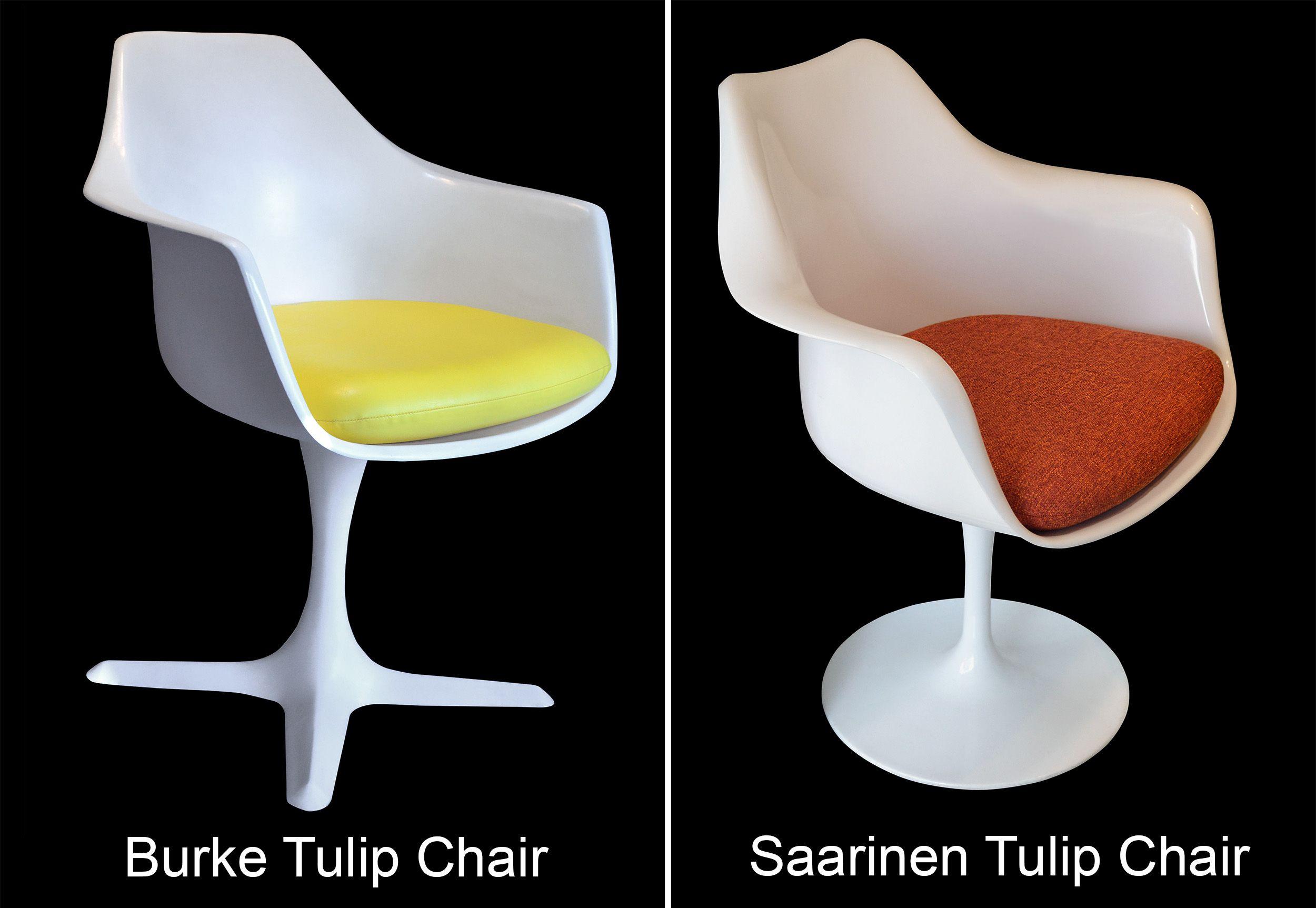 Replacement Cushion For Saarinen Tulip Side Chair Marine Vinyl