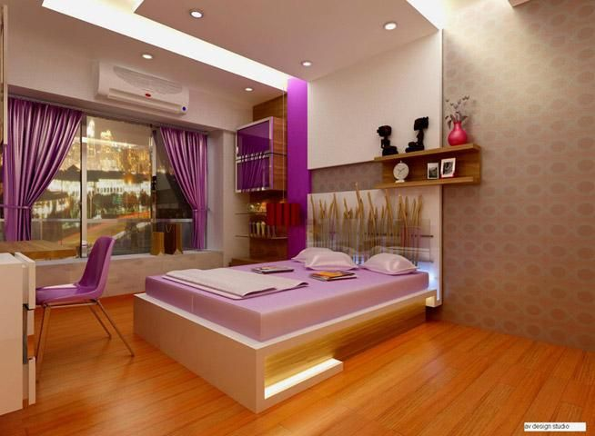 interior decoration of bedroom