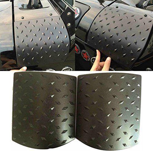 Durable ABS Cowl Body Armor Cover Jeep Wrangler JK Sahara Rubicon Unlimited-Pair