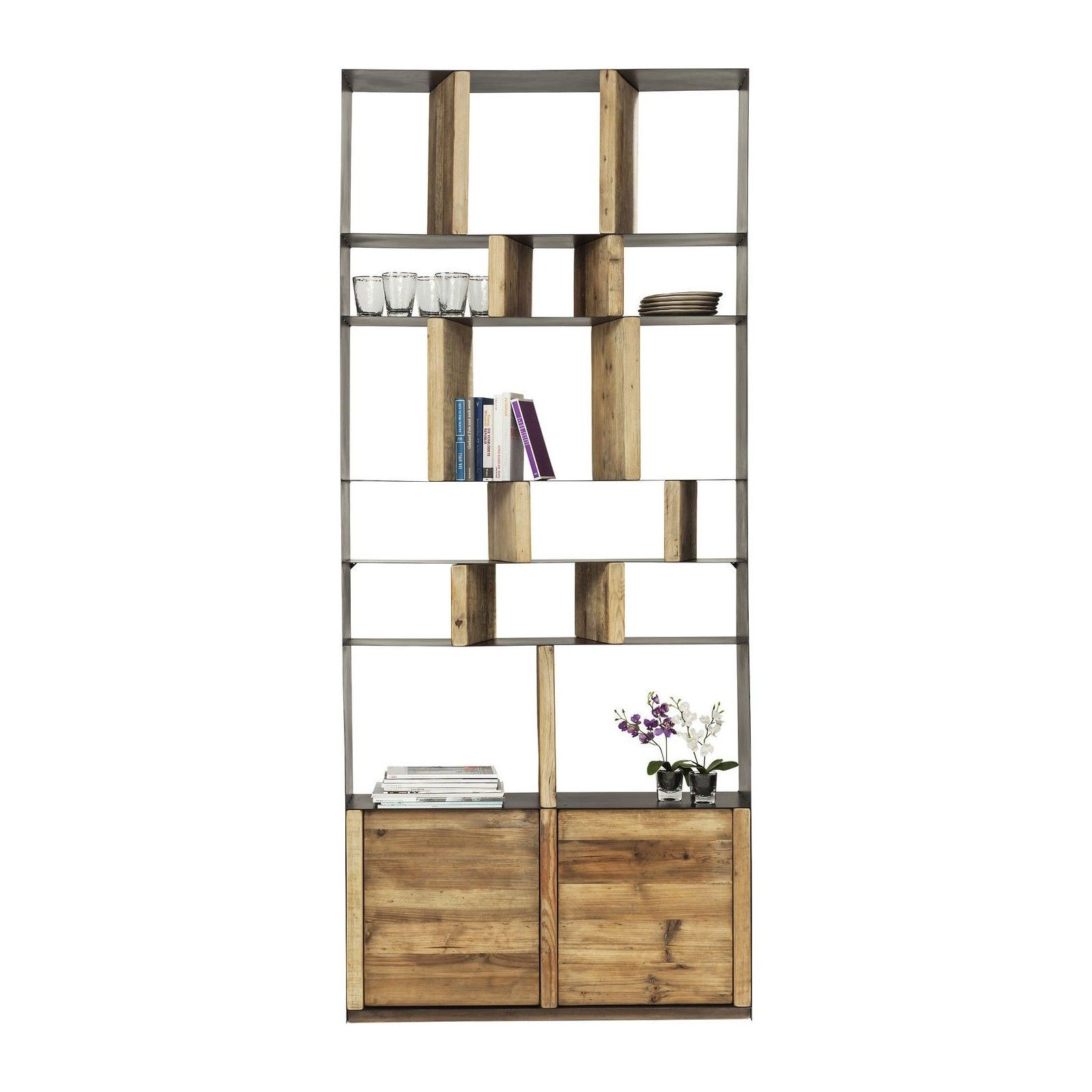 Kare Design Ameublement Et Decoration Etagere Authentico Zick Zack 120 Meubles Staiindojkt Ac Id
