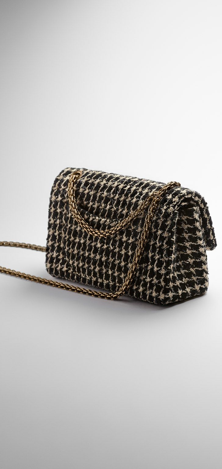 ebe963cfee3c Tweed 2.55 flap bag - CHANEL