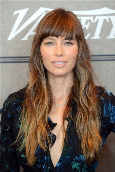 Image result for jessica biel bangs