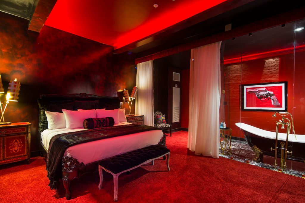 Archangel lucifer suite the saint hotel new orleans 39 s p - Suites in new orleans with 2 bedrooms ...