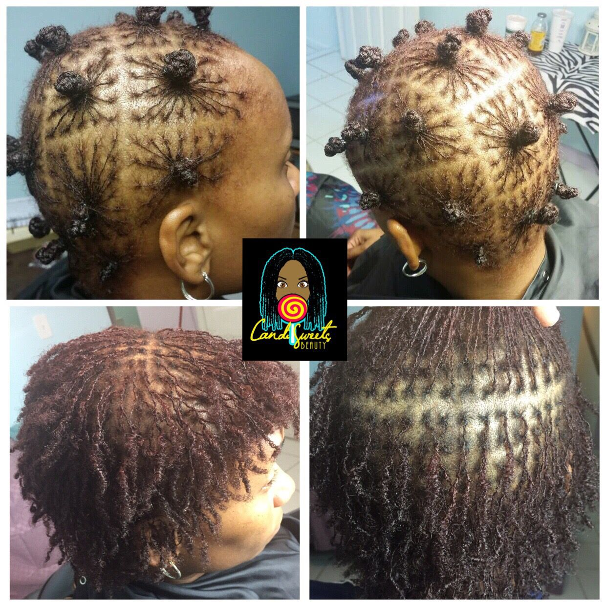 Black Hairstyles For Thin Edges Entrancing If You Have Thin Hair No Worries Sisterlocks Fills In After A Few