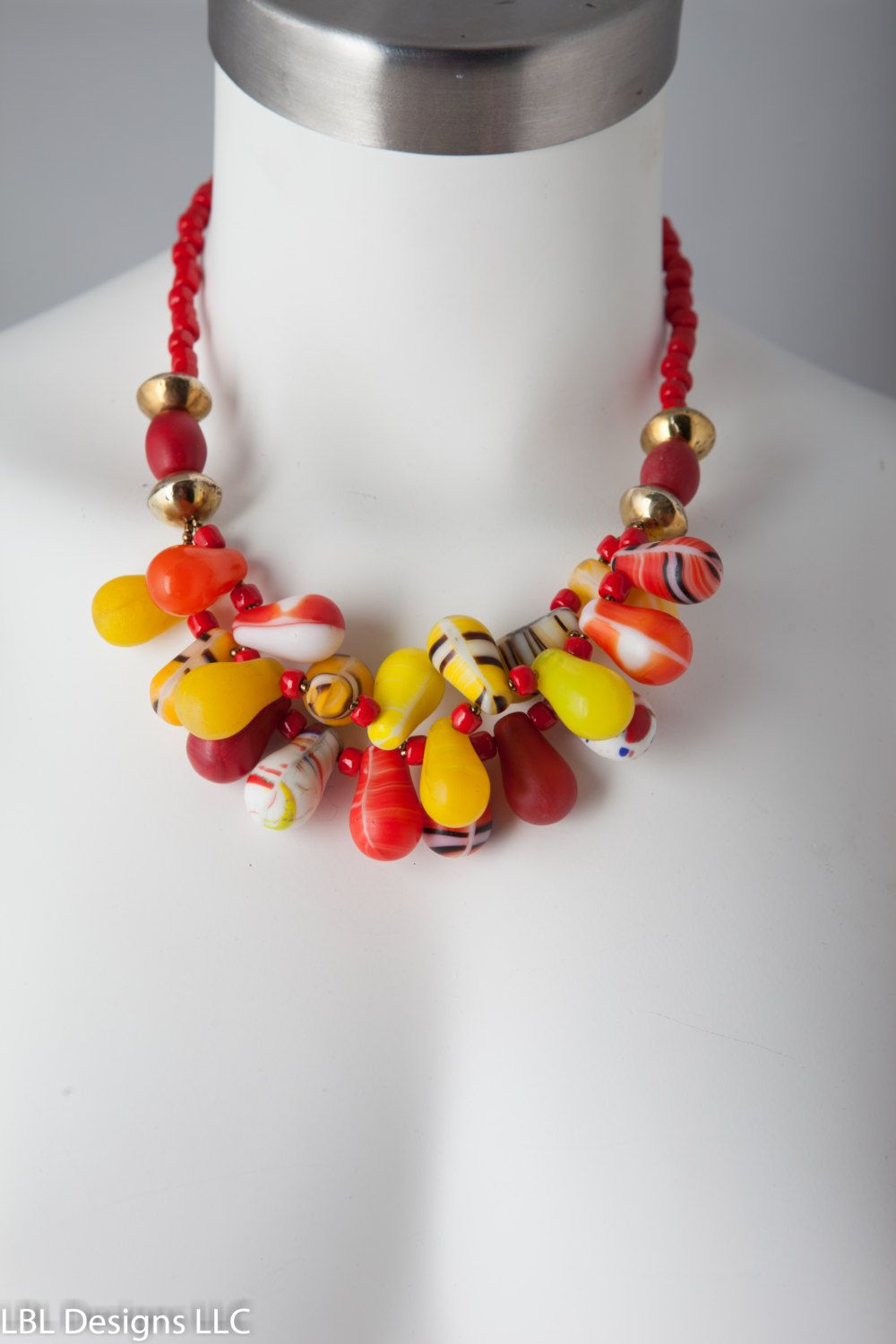 Old Handmade Mali Wedding Beads AFRICAN WEDDING BEADS African Vulcanite African Coin Silver Beads Statement Necklace