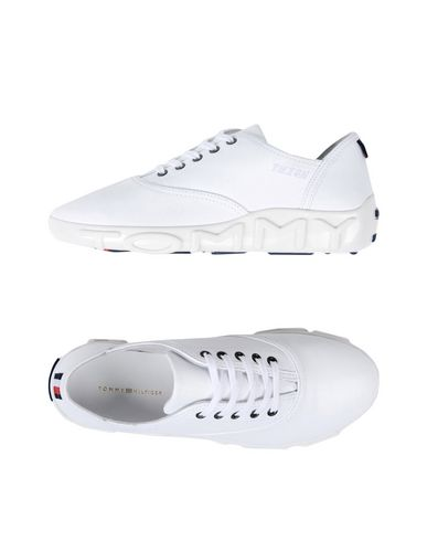 48338e70 GIGI HADID x TOMMY HILFIGER Women's Low-tops & sneakers White 11 US ...