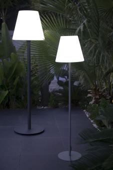 Outdoor Stehleuchte Standy Designer Stehlampe Fur Balkon Terrasse Garten Weiss 3 Grossen Garten Stehlampe Lampen Garten Lampen Fur Draussen