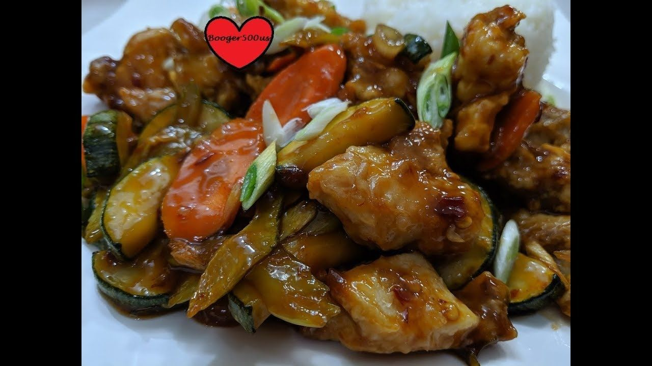 SPICY CHINESE CHICKEN AND ZUCCHINI STIR FRY AIR FRYER ...