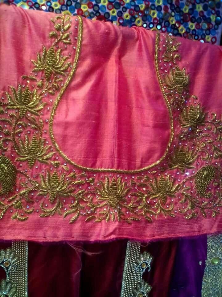 Pin de Shailaja Darna en Work blouses   Pinterest