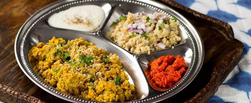Vegetarisk Fars Med Indiska Kryddor Och Kokosmjolk Vegetariska Recept Mat Med Gronsaker Recept