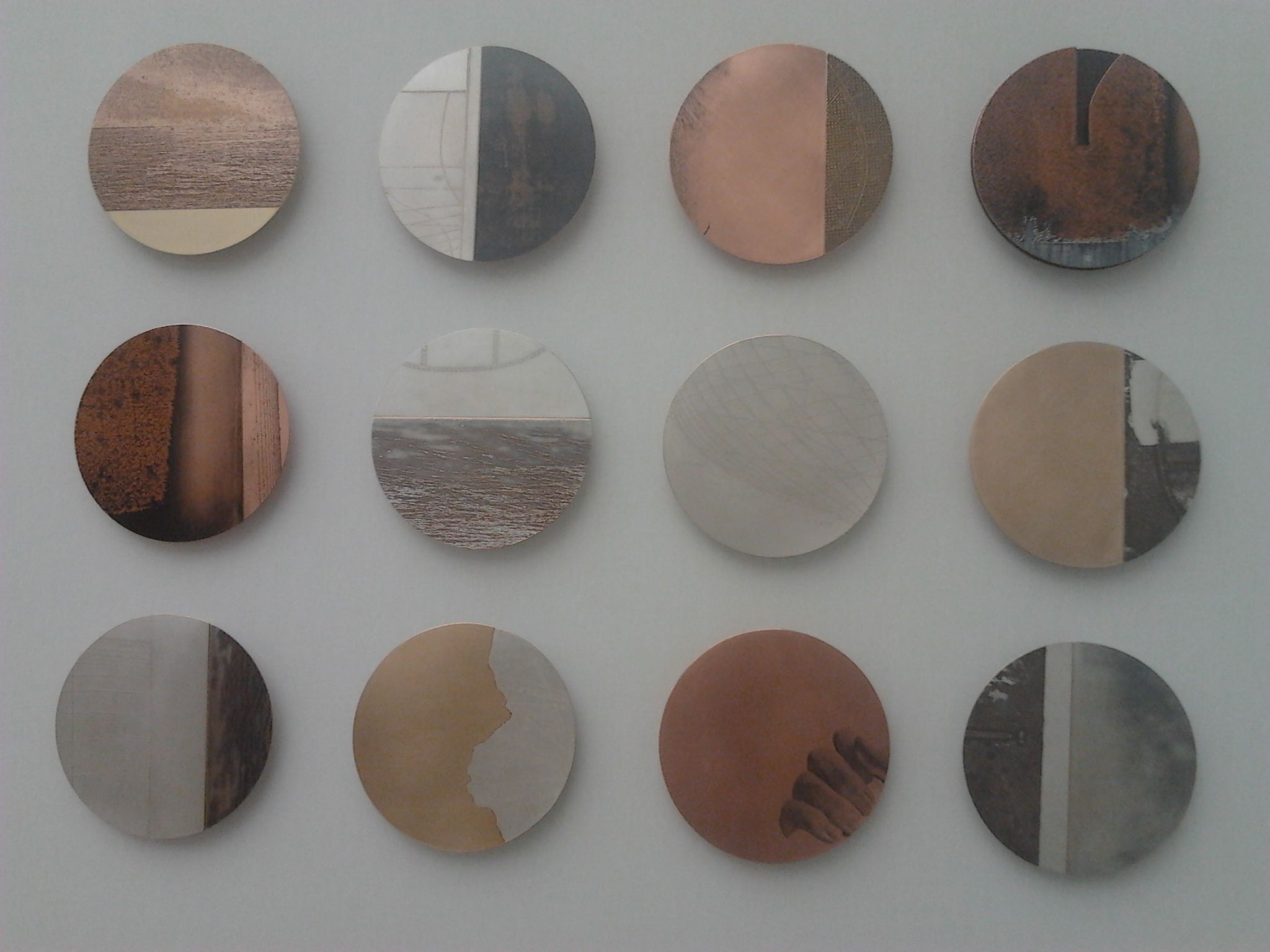 Coloured Plates - At Collect 2012