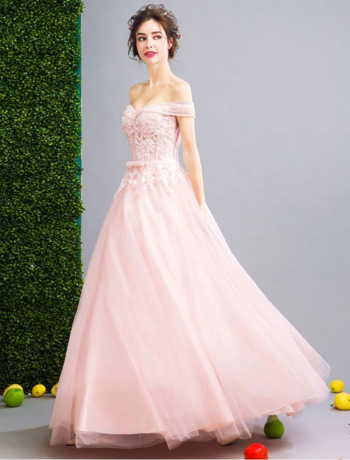 Marilyn Monroe Inspired 1950s Off The Shoulder Sequin Lace Prom ...