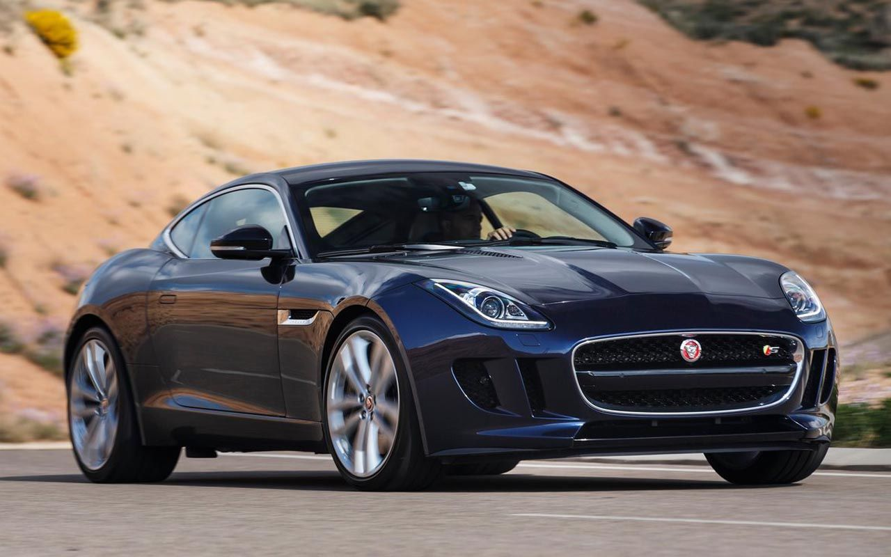 2015 Jaguar F TYPE Coupe R | 2015 Jaguar F Type Coupe And R