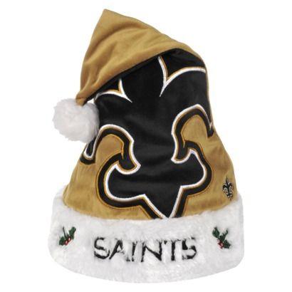 ... reduced nfl santa hat new orleans saints multicolor 4cd8e 1d991 4587b87ef