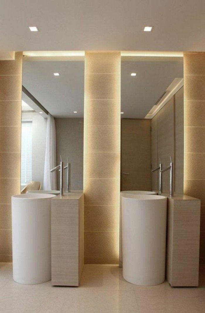badgestaltung ideen bader ideen badezimmer in beige spiegel mit - badezimmer design badgestaltung