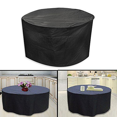 Multiware 227cm X 100cm Large Garden Patio Furniture Cover Round Waterproof Oxford Table Covers Yard Ideas And Gardens