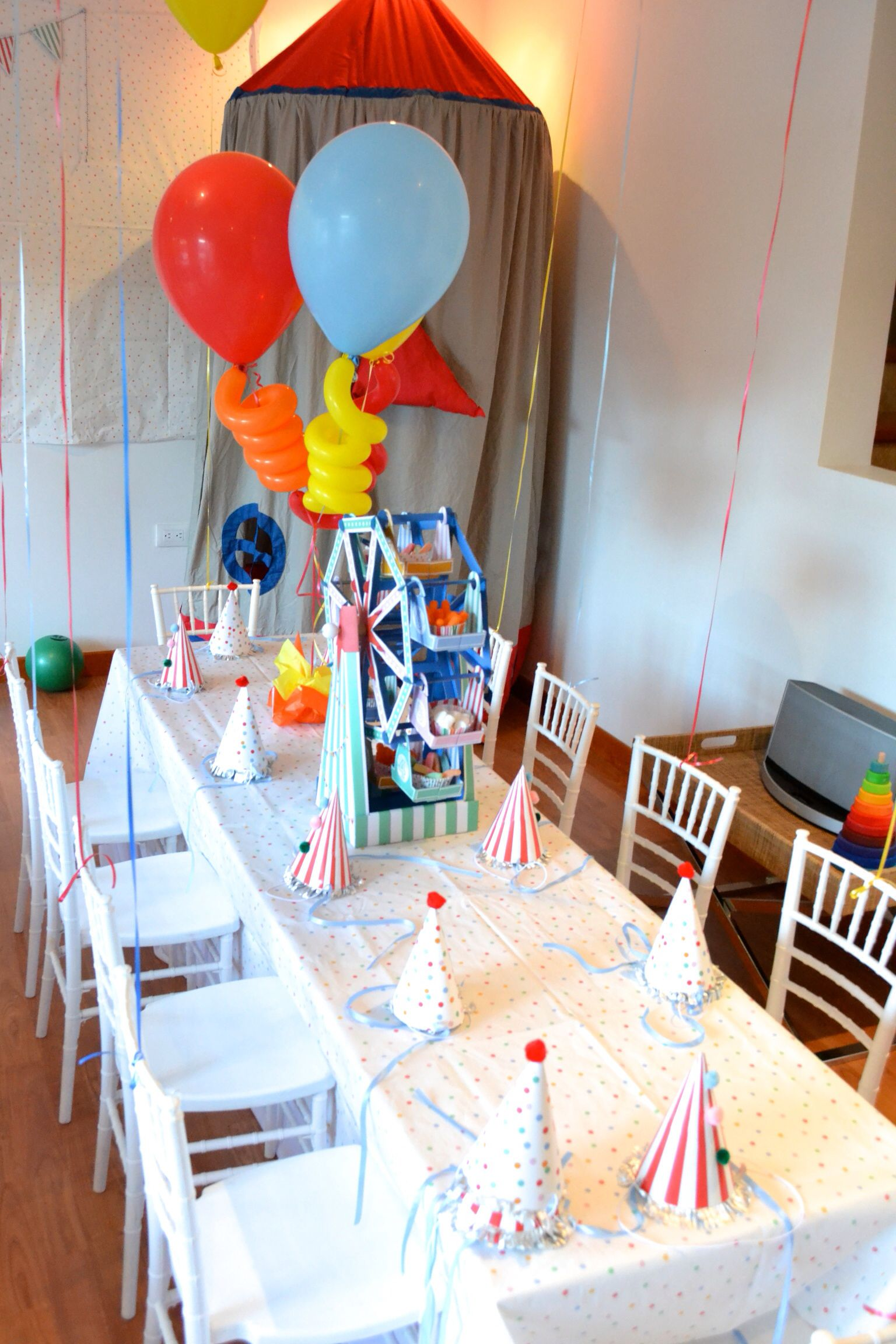 Carnival 1st birthday party 1st birthday parties