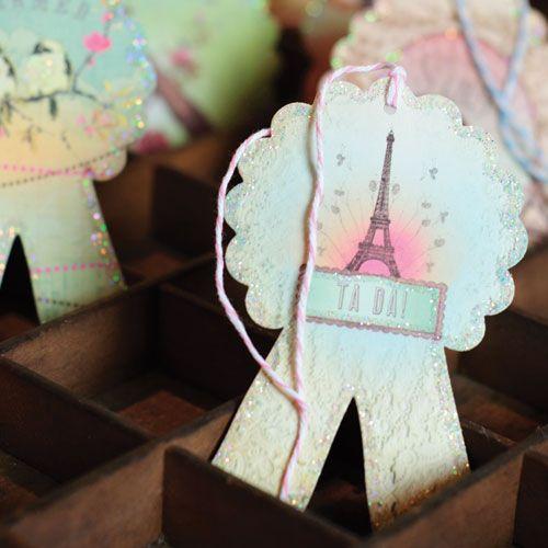 Glittered Gift Cards! Papaya Art | HippeShops ♥ Living ...