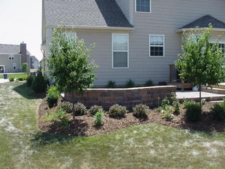 landscaping patio & seating