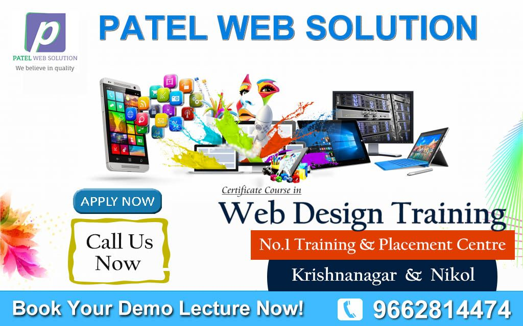 Professional Web Design Training In Ahmedabad Web Design Training Web Design Professional Web Design