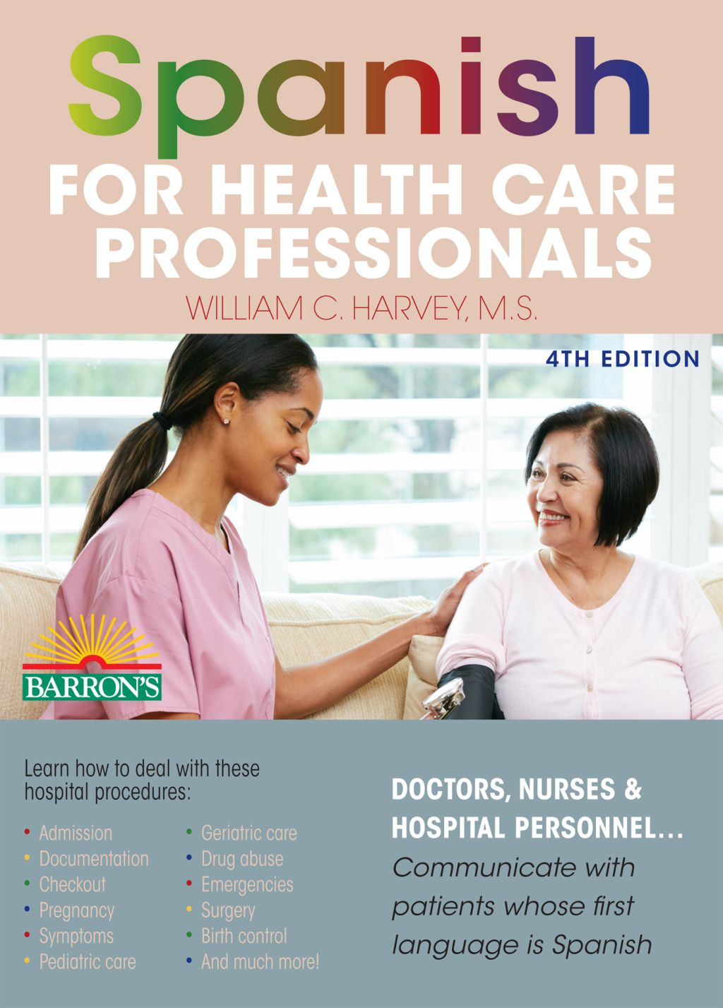 Spanish for Health Care Professionals (eBook) Healthcare