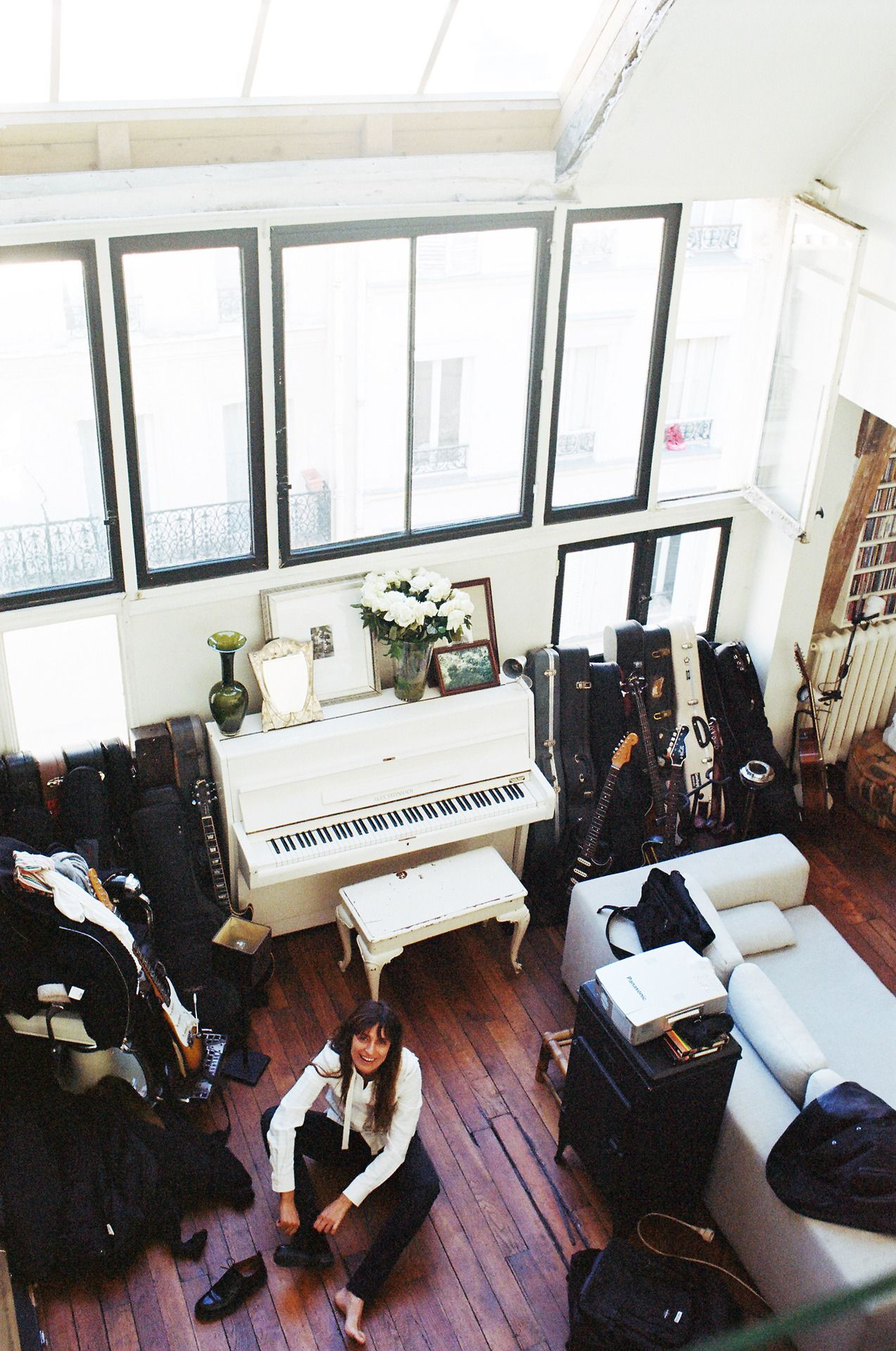 Looks like my room | At home with Caroline de Maigret by Quentin de ...