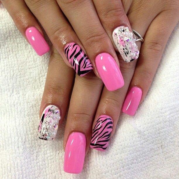 Nails by: Mz Tina   Nails, Pretty nails, Nail designs