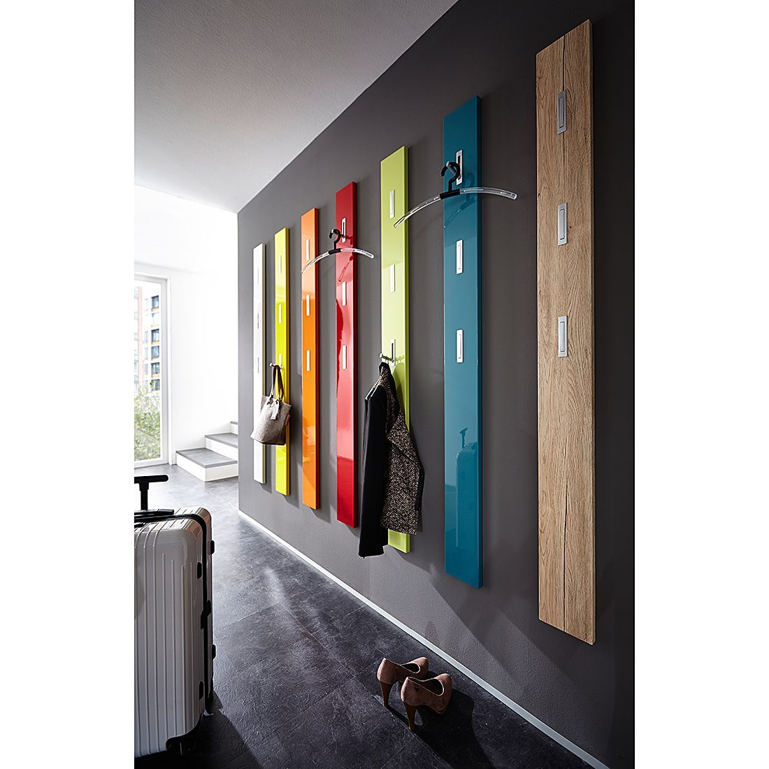 Dielenmobel Garderobenpaneele Jetzt Kaufen Online Garderobenpaneel Colorado Garderobenpaneel Wandgarderobe Flur Mobel