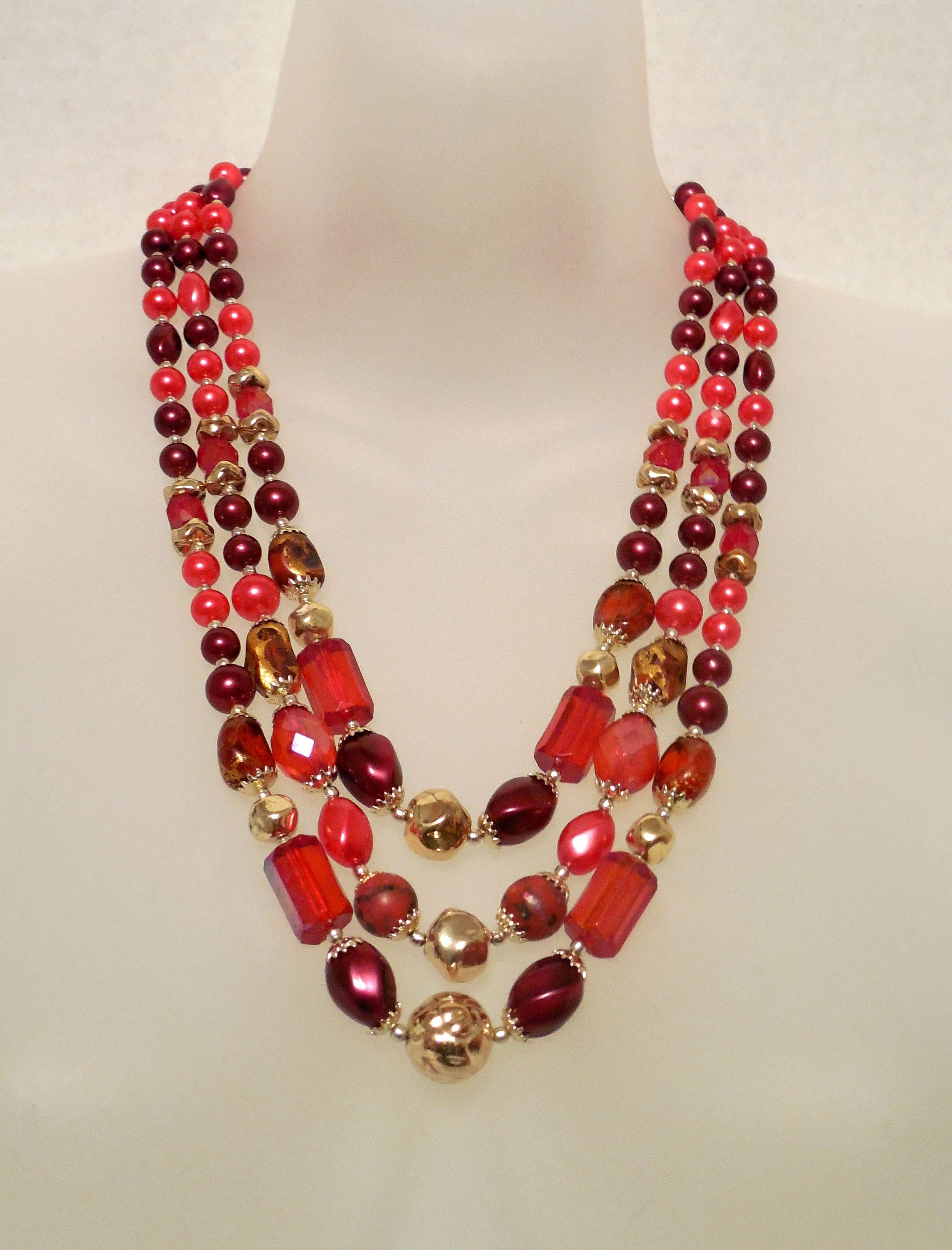white fashion stone gold jewelry necklace ruby color diamond necklaces jewellery