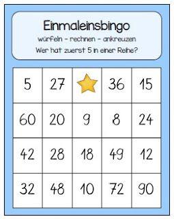 Bingo Bis Zur Zehnerreihe Endlich Pause 2 0 Bloglovin Mathe Unterrichten Matheunterricht Unterrichten