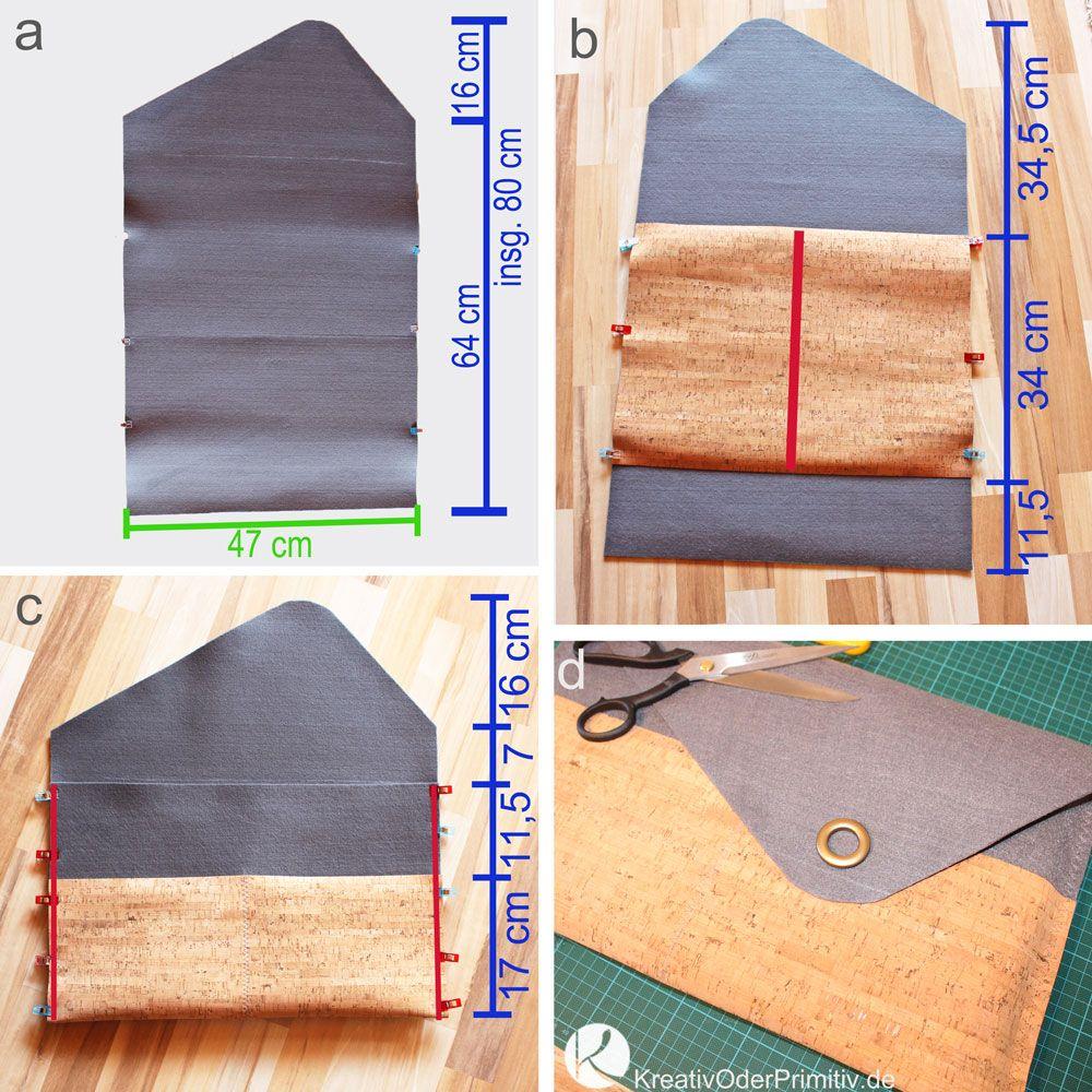 notebook tasche laptop selber n hen filz kork snappap leder diy basteln kostenlos g nstig. Black Bedroom Furniture Sets. Home Design Ideas