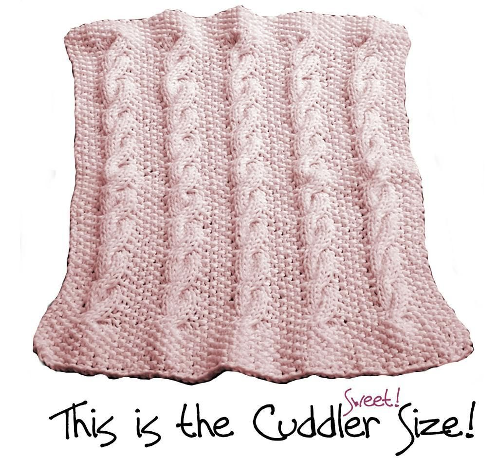 Cable Baby Blanket Knitting Pattern Free Images - handicraft ideas ...
