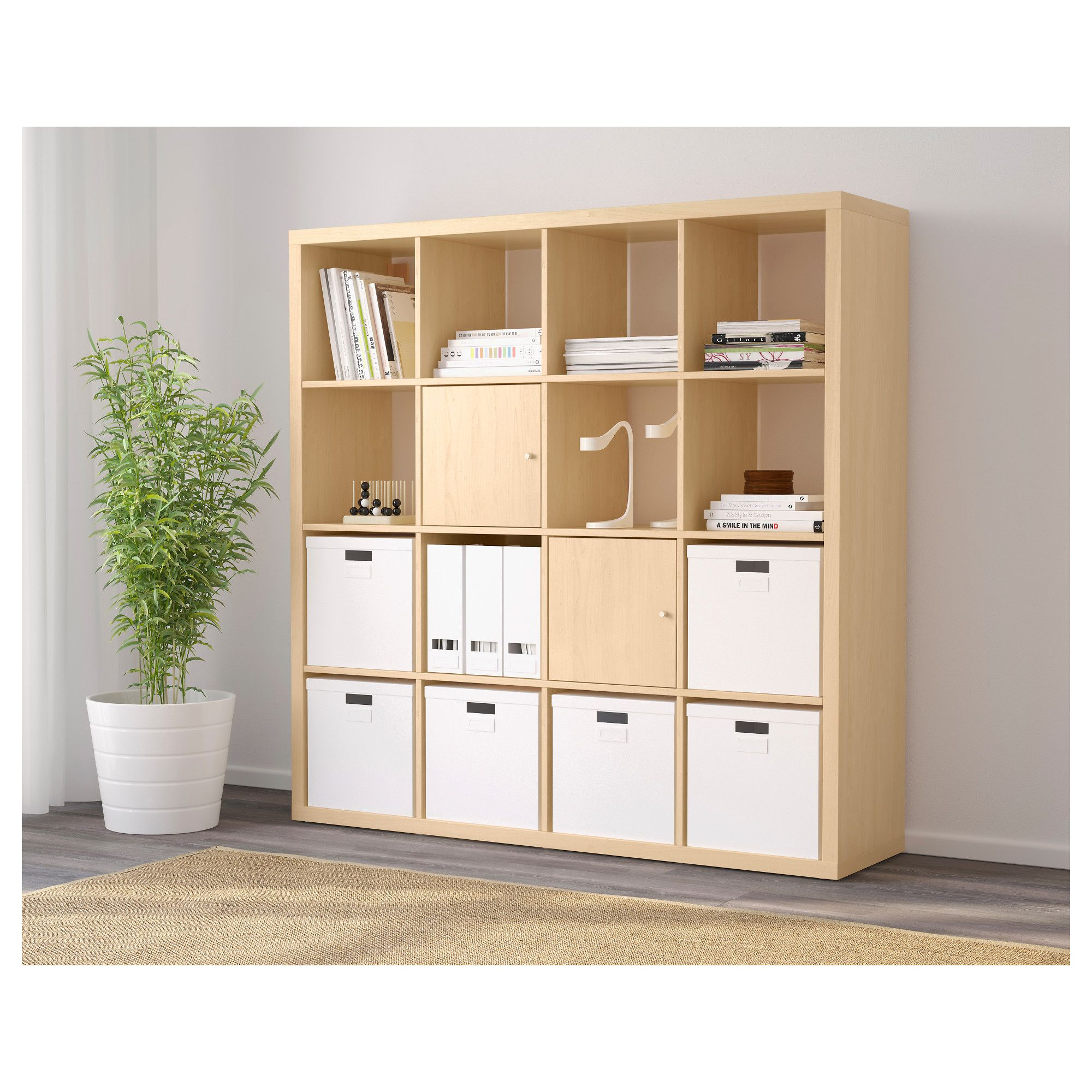IKEA - KALLAX Shelf unit birch effect | ikea kallax in ...