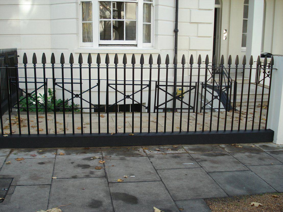 London Style Railings Victorian Front Garden Iron Railings