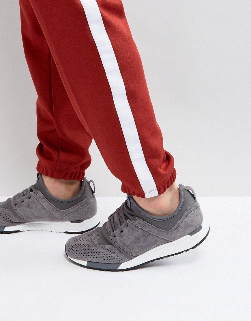 new balance 247 trainers grey grey