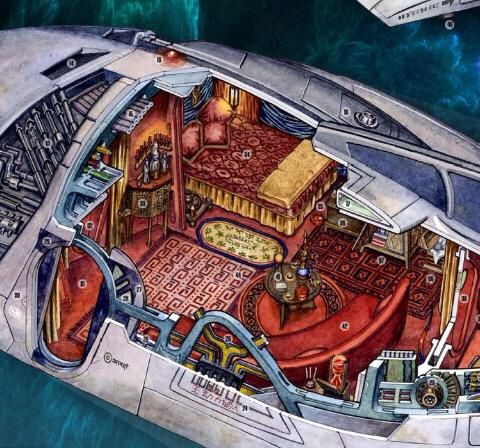 Interior Layout Of Inara S Shuttle Decorating Firefly
