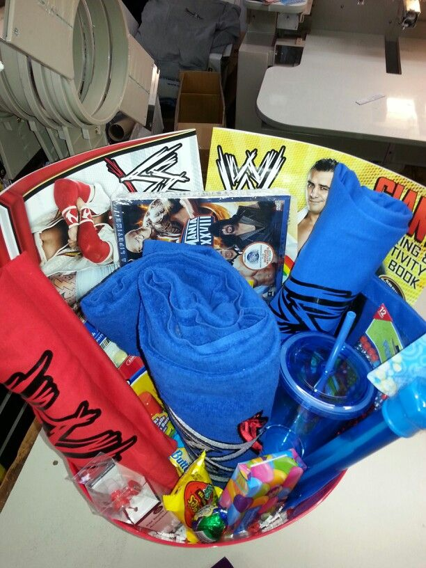 WWE john cena easter basket | easter baskets | Pinterest