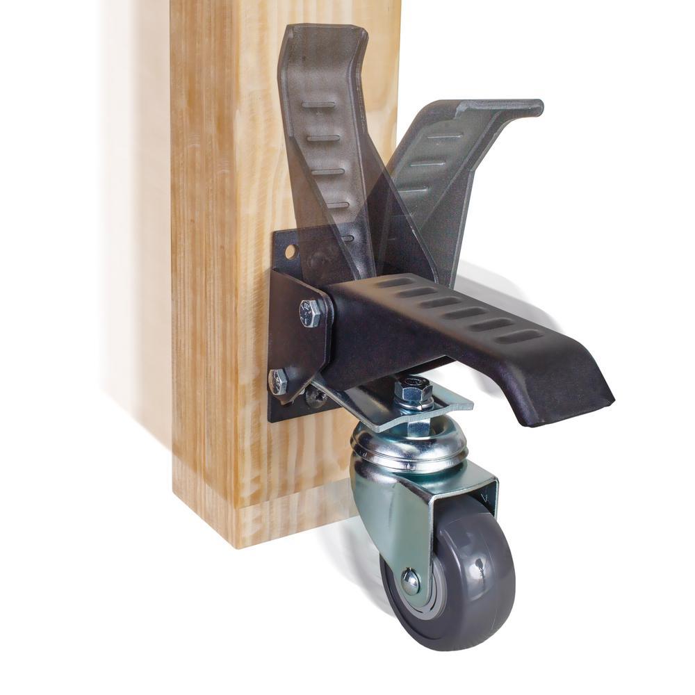 POWERTEC New Workbench Caster Kit (4-Pack)-17001 - The Home Depot