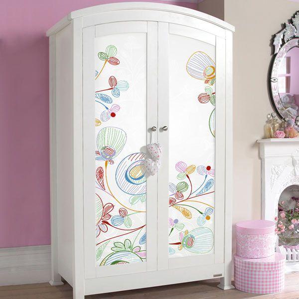 Vinilos para muebles diy mi deco pinterest vinilos - Vinilos puertas armarios ...
