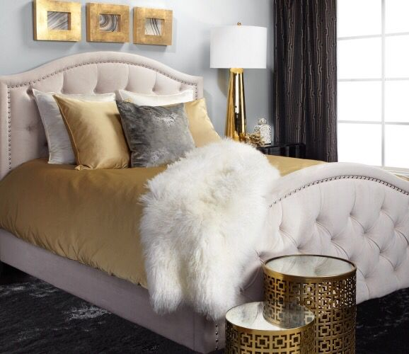 Inspired by this bedroom look on @ZGallerie