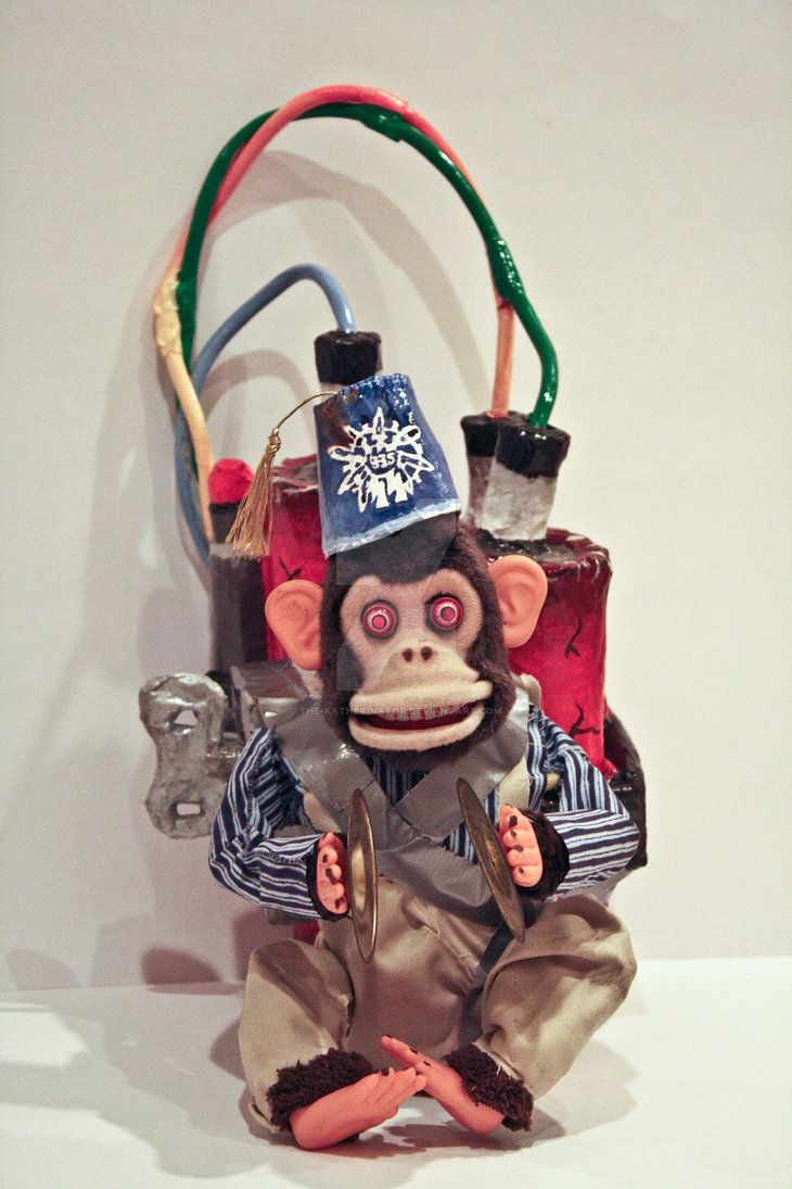 Call Of Duty Zombies Monkey Bomb Replica By The Katherinator